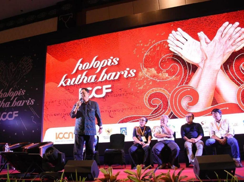 Salah satunya adalah Denpasar yang merupakan kota kreatif berwawasan budaya ini juga turut andil pada ajang yang mempertemukan 170 delegasi kabupaten/kota kreatif di Indonesia. Foto: dok. Pemkot Denpasar