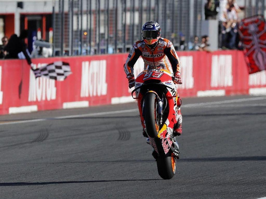 Marc Marquez Sukses Jinakkan Motor Honda yang 'Ganas'