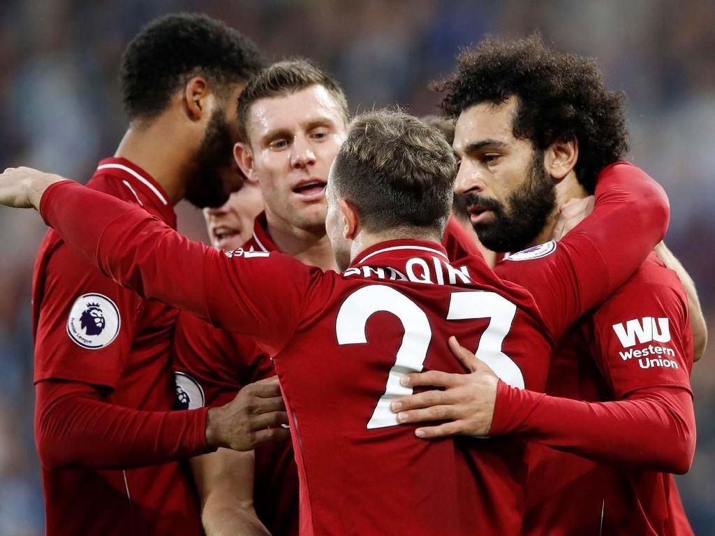Gol Semata Wayang Salah Menangkan Liverpool