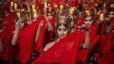 Meski kemudian Raden Mas Alit harus gugur dalam sebuah ekspedisi pelayaran (Layar) hingga menyebabkan kesedihan (Kumendung) bagi rakyat Banyuwangi.(Juni Kriswanto / AFP)