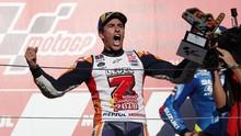 Juara Dunia MotoGP 2018, Marquez Ancam Rekor Rossi