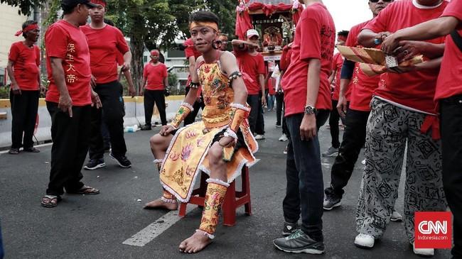 Tatung menjadi bagian dari acara Kirab Budaya dan Ruwat Bumi yang digelar untuk melestarikan budaya khususnya masyarakat Tionghoa dan ulang tahun Bio Fat Cu Kung (Se Jit) yang dipercaya akan mendatangkan keberkahan, kemakmuran dan kesejahteraan bagi mereka yang merayakan dan menghadiri. CNN Indonesia/Andry Novelino