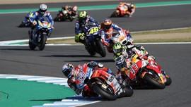 Klasemen Akhir MotoGP 2018, Marquez Dikuntit Dovi dan Rossi