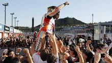 Marc Marquez Cocok Jadi Semut di MotoGP