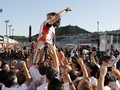Rayakan Juara dunia MotoGP, Marquez Cedera Dislokasi Bahu