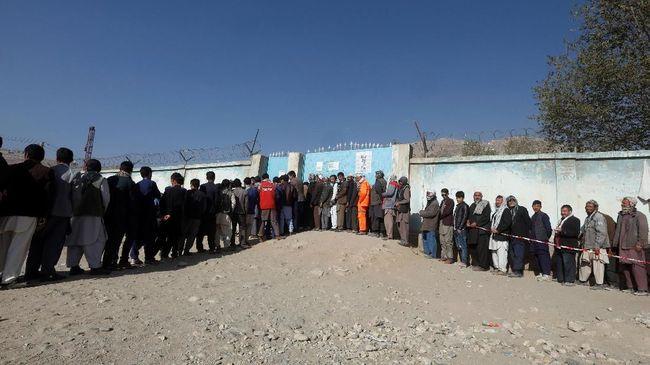 Cegah Kecurangan, Pilpres Afghanistan Gunakan Mesin Biometrik