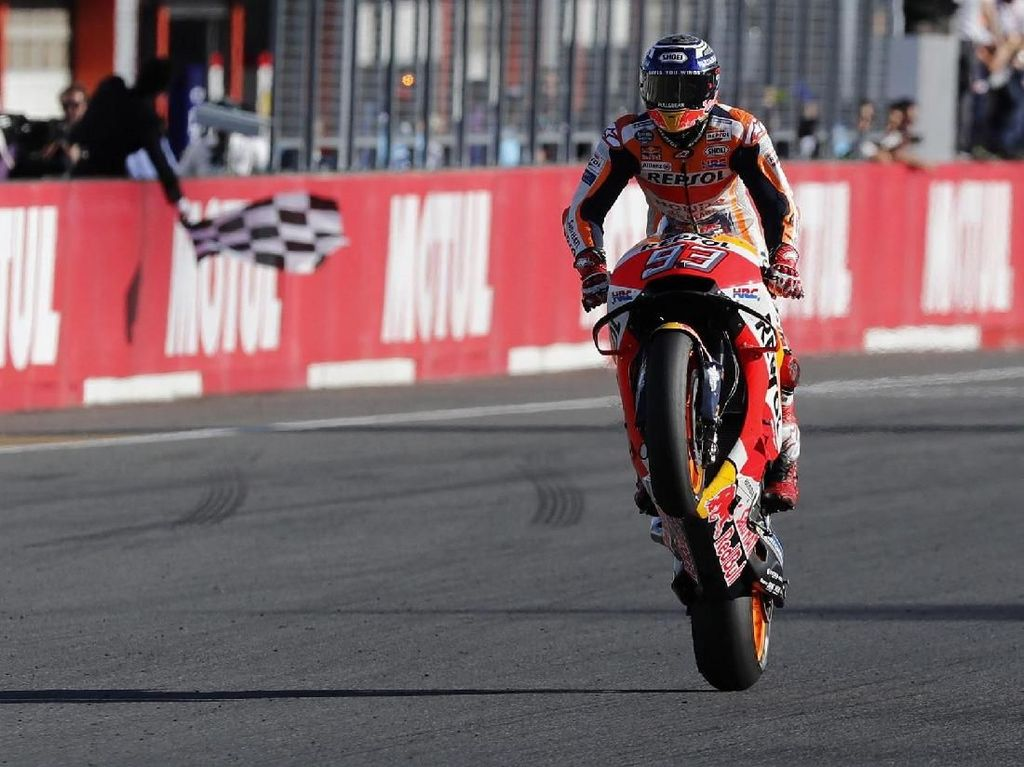 16 Momen Marc Marquez Menuju Juara Dunia MotoGP 2018