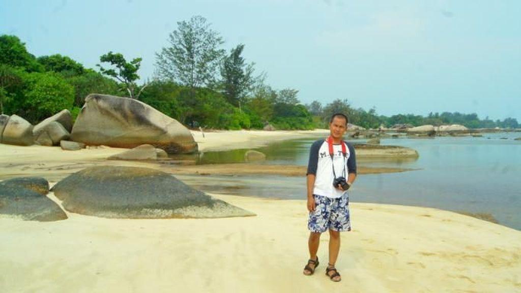 Pantai di Belitung Ini Serasa Milik Pribadi