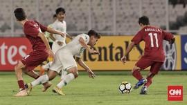 Timnas Indonesia U-19 Kalah 5-6 dari Qatar di Piala Asia 2018