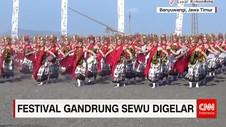 Kemeriahan Festival Tari Gandrung Sewu