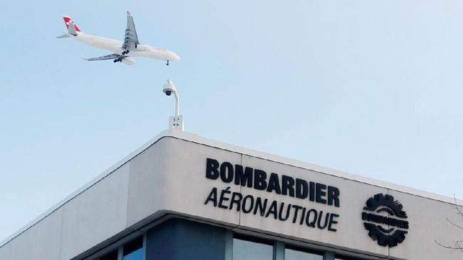 GIAA Sempat Dipesan Garuda, Bombardier Kini PHK 2.500 Pekerja
