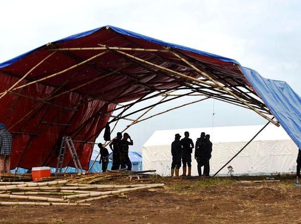 Bantuan dari TNI dan ITB untuk Pengungsi di Palu