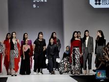 Saat Putri Jokowi dan Istri Sandi Uno Sambangi JFW 2019