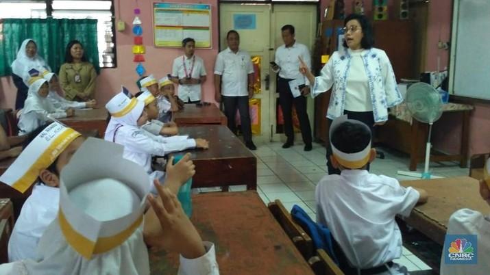 Sri Mulyani Dicecar Pertanyaan Soal Utang, Oleh Bocah SD!