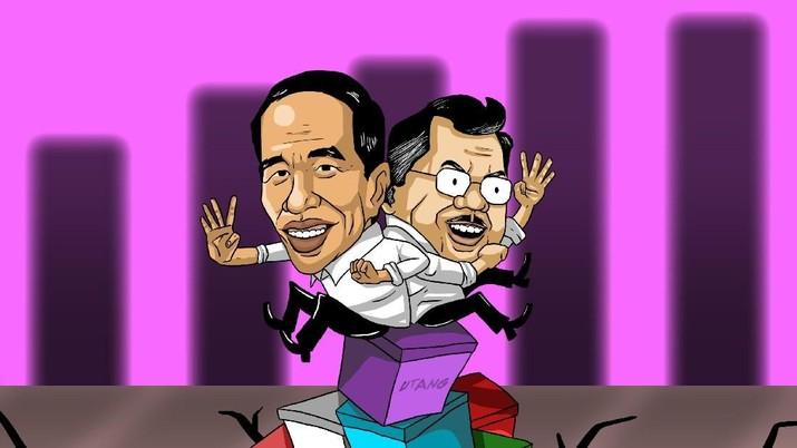 Untuk Apa Saja Sih Utang Selama Pemerintahan Jokowi -JK?