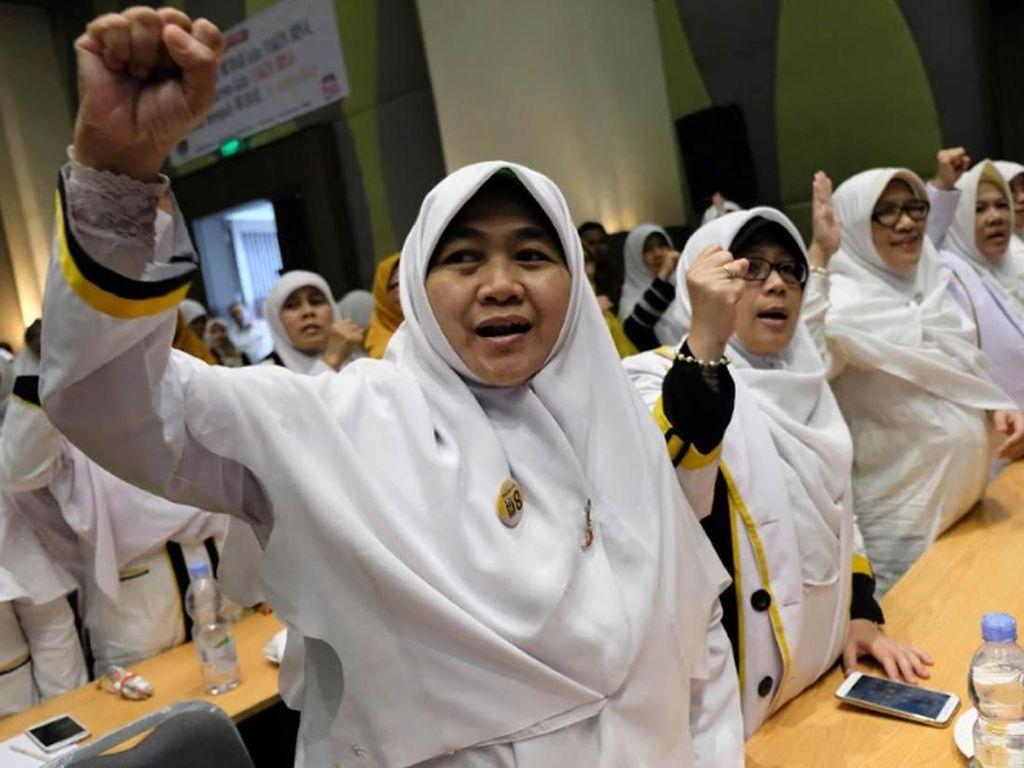 Sekitar 200 calon anggota DPR RI dan DPRD DKI Jakarta hadir dalam rapat kerja wilayah 2018. Istimewa/PKS.