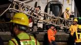 Kecelakaan di Provinsi Yilan tersebut terjadi pada Minggu (21/10). (Reuters/Lee Kun Han)