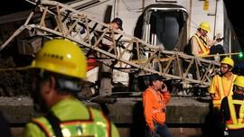 Masinis Kereta yang Kecelakaan di Taiwan Bebas dengan Jaminan