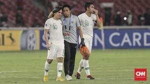 FOTO: Detik-detik Qatar Bikin Timnas Indonesia U-19 Menangis