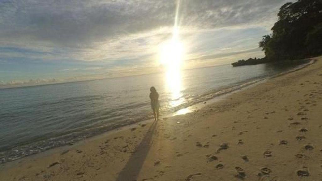 Saat Matahari Terbit di Ujung Barat Indonesia