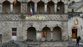 Seluruh bangunan asli di Matera adalah gua yang terbuat dari batu kapur, atau biasa disebut grotto.