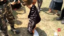 VIDEO: Banser Bakar Bendera, Polisi Minta Warga Tak Emosi