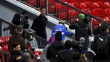 FOTO: Kembali ke Old Trafford, Ronaldo Melawan Man United