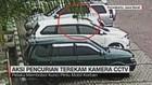 Aksi Pencurian Terekam Kamera CCTV