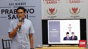 Sandi Tuding Utang BUMN Meroket karena Politik Jokowi