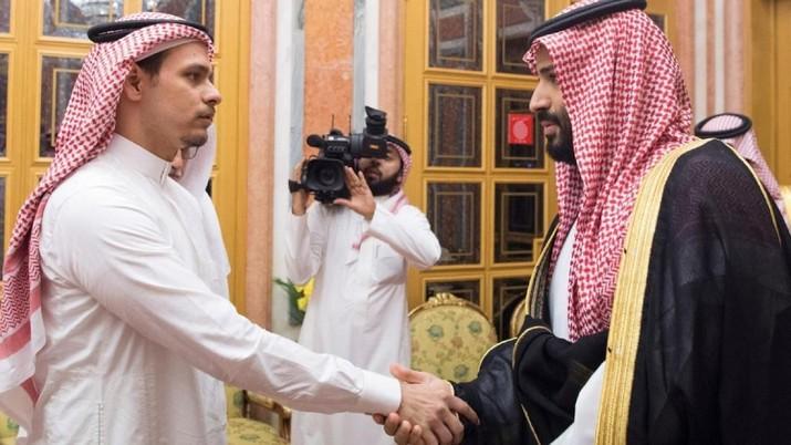 Warganet Marah Lihat Pertemuan Putra Khashoggi-Pangeran Arab