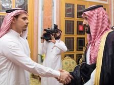 Raja Salman Terima Keluarga Almarhum Jamal Khashoggi