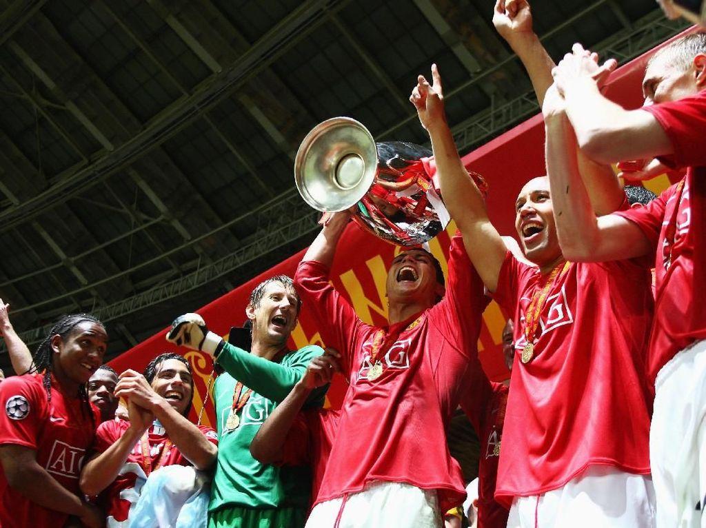 11 Momen Terbaik Cristiano Ronaldo Bersama Setan Merah