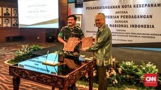 Kemendag dan TNI Kerja Sama Atasi Penyelundupan di Perbatasan