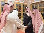 Keluarga Mulai Serang, Raja Arab Tetap Bela Putera Mahkota