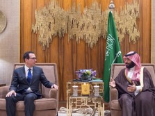 Menkeu AS Bertemu Pangeran Arab, Bahas Apa?