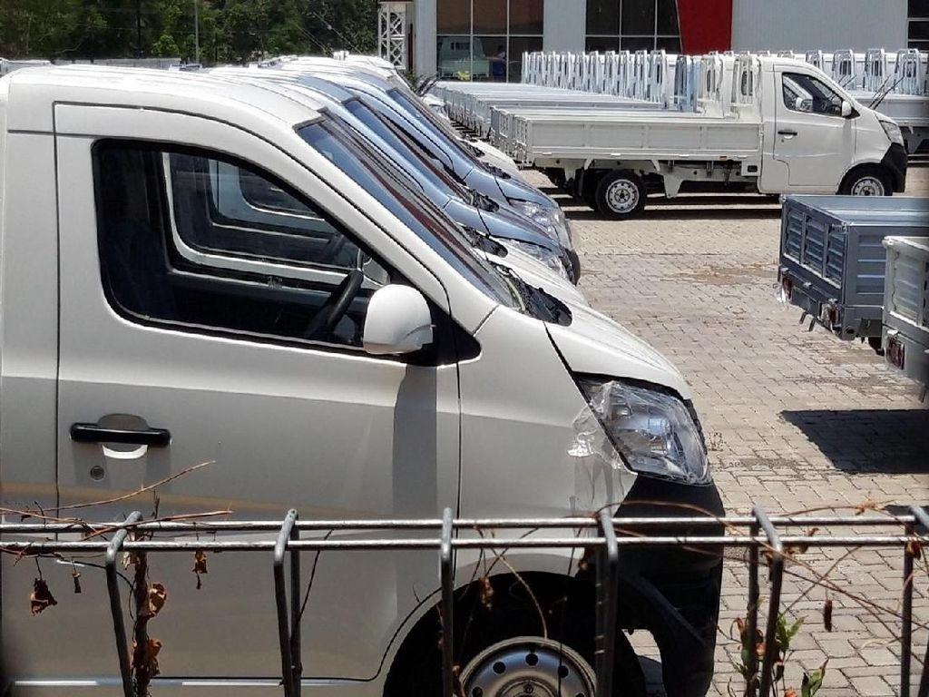 Begini Wujud Mobil Pikap Esemka di Pabrik Boyolali
