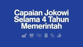 Ekonomi di Tangan Jokowi Selama 4 Tahun Memerintah
