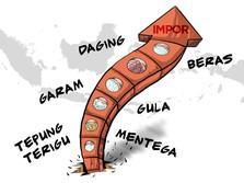 Impor Pangan Deras Banjiri RI