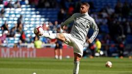 Sergio Ramos 'Hajar' Pemain Muda Madrid dalam Sesi Latihan