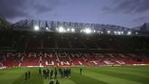 Stadion Old Trafford pernah menjadi panggung bagi Cristiano Ronaldo untuk bersinar bersama Manchester United. (Reuters/Jason Cairnduff)