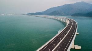 FOTO: Jembatan Laut Hong Kong-Makau