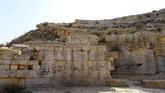 Namun semenjak beberapa waktu terakhir, reruntuhan bersejarah itu sepi dari wisatawan. Gantinya, para vandal merusak.(REUTERS/Esam Omran Al-Fetori)