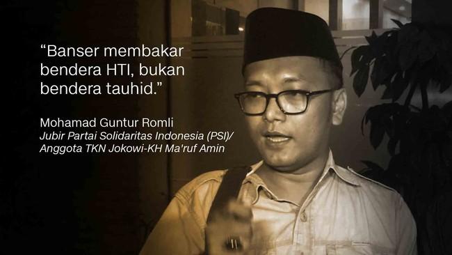 Anggota Tim Kampanye Jokowi-Ma'ruf Guntur Romli