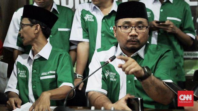 GP Ansor Sebut Soal UN 'Bubarkan Banser' Terkontaminasi HTI