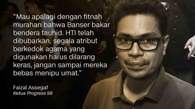 Ketua Progress 98 Faizal Assegaf