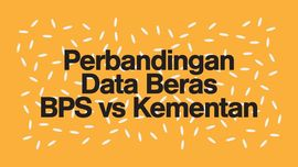 Perbandingan Data Beras vs Kementan