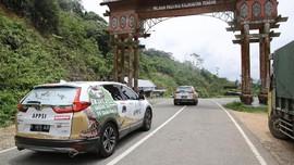 CR-V Turbo yang 'Disiksa' Telah Sampai Kalimantan