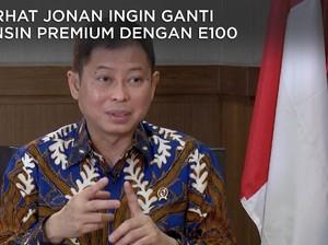 Saat Jonan Ingin Ganti BBM Premium dengan E100