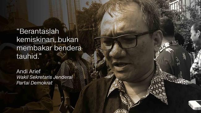 Wakil Sekretaris Jenderal Demokrat Andi Arief