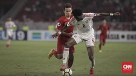 Babak Pertama: Timnas Indonesia U-23 Imbangi Arab Saudi 1-1